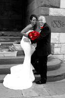 Tiffani and Eric Formals Downtown Albany